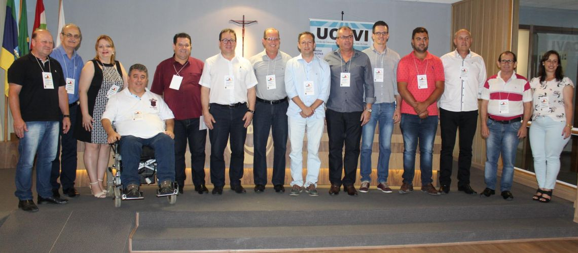 Eleita diretoria da UCAVI 2019